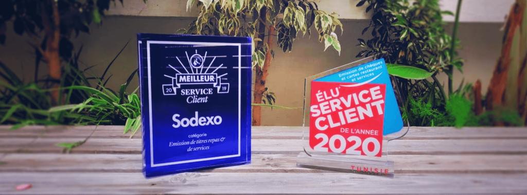 Sodexo Tunisie - Élu service client 2020