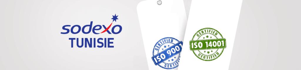 Sodexo ISO 9001 et 14001
